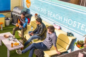 Hostel Style, the Flying Pig Beach is providing the quintessential hostel experience. Brand values