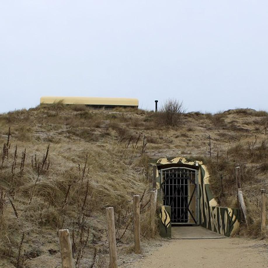 Atlantik-wall museum in Noordwijk