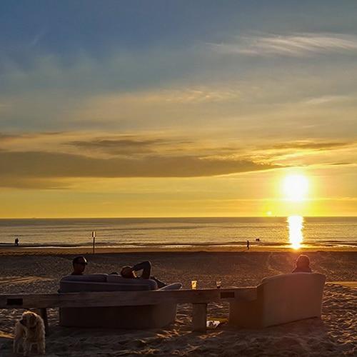 Sunset Noordwijk Netherlands