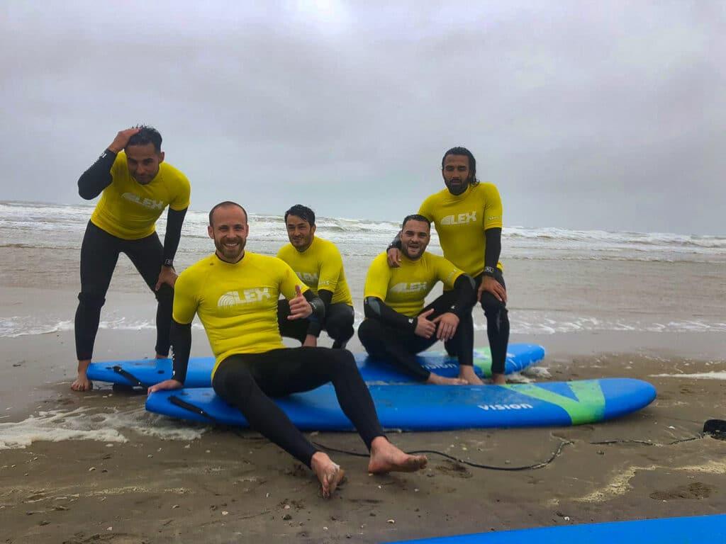 Surf lessen Lex