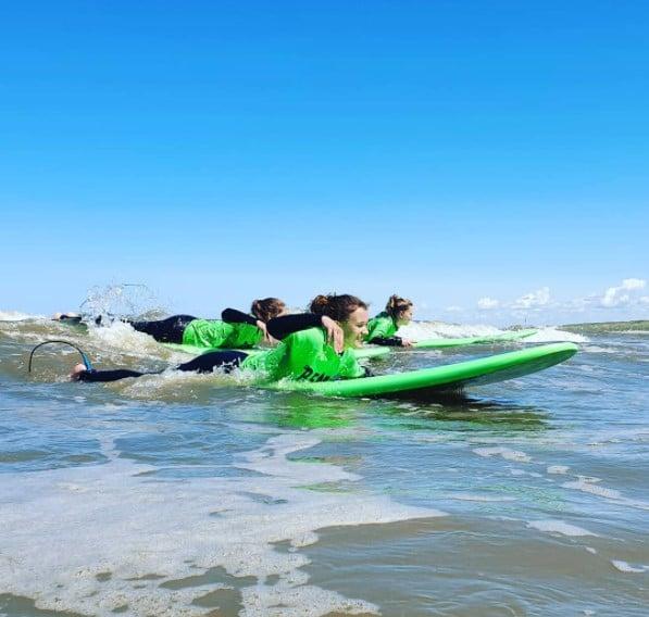 surf lessen Noordwijk